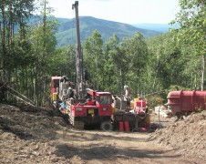 Alaska Exploration Drilling
